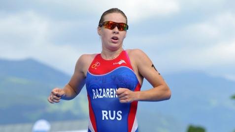 Триатлонистка выиграла первую после декрета гонку в России