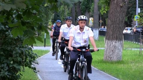 В Саратове полицейские будут патрулировать город на велосипедах