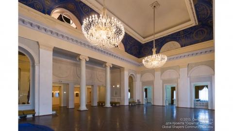 В оперном театре демонтируют Голубую гостиную и входную группу