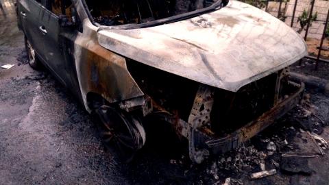 За поджог машины задержан находившийся в розыске ровно 18 лет бомж