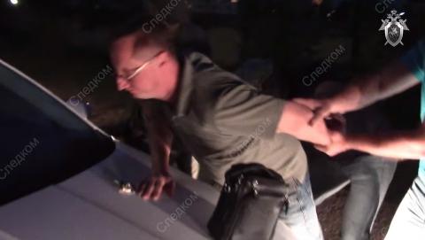 Опубликовано видео задержания начальника службы таможенного контроля