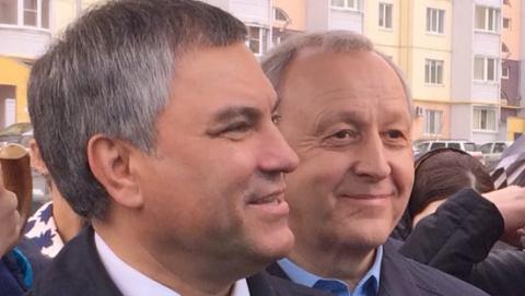 Вячеслав Володин и Валерий Радаев обсудили участие Саратовской области в реализации федеральных программ