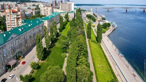 Саратовцы проголосовали за ремонт набережной