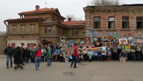 Охранную зону музея Павла Кузнецова могут продать под автосалон