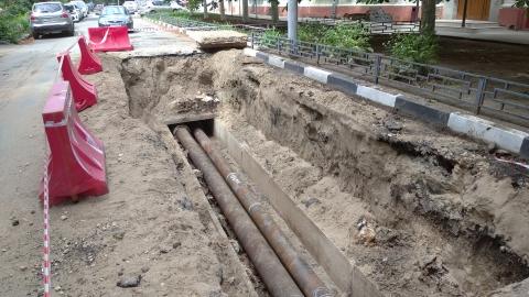 «Т Плюс» инвестирует в реконструкцию теплотрассы на ул. Васильковская в Заводском районе более 62 млн рублей