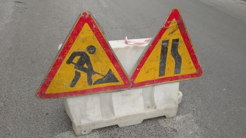 Энергетики на два дня перекрыли дорогу в центре Саратова