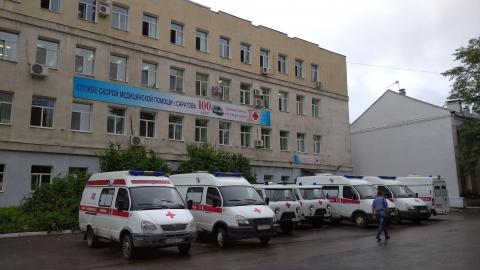 Саратовец на ГАЗе врезался в «скорую помощь»