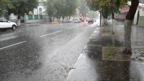 Дождь не покинет саратовцев с утра