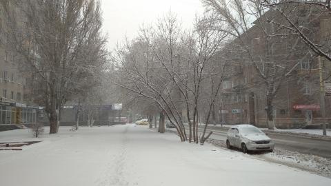 Снежные туманы окутали регион