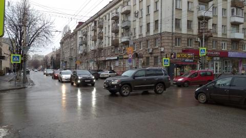 В центре Саратова не работают светофоры