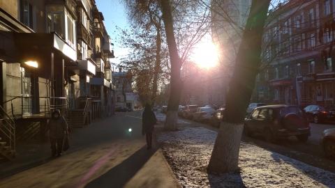 В Саратове последний ясный день перед пасмурной неделей