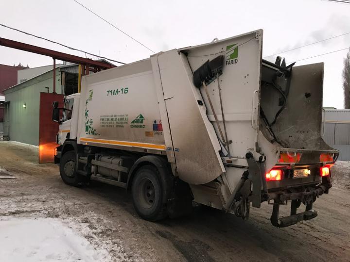 Регоператор: появились первые заблокированные снегом контейнерные площадки