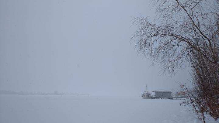 Саратов на весь день затянуло туманом