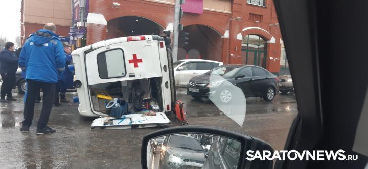 МВД прокомментировало столкновение «скорой» с полицейским автомобилем
