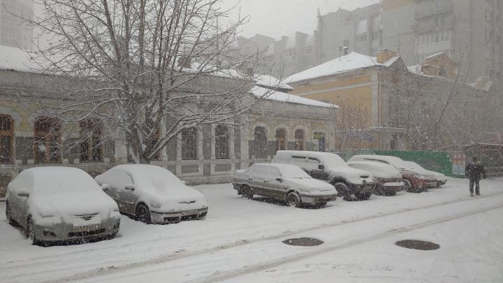 Морозы до -38 градусов и метель в Саратовской области