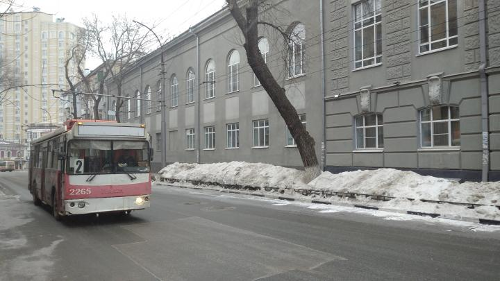 Все саратовские троллейбусы будут ходить по новому расписанию