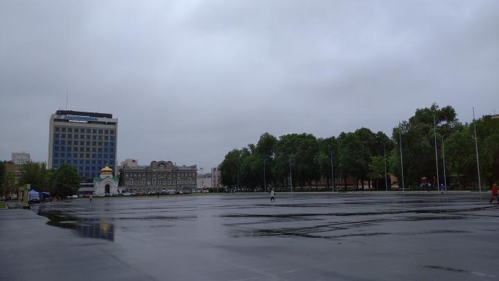 Дождь в Саратове начнется с утра