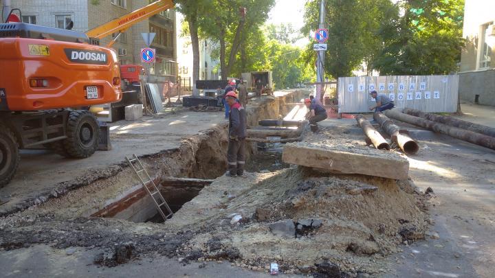 «Т Плюс» приступает к реконструкции теплотрассы на ул. Рахова в Саратове