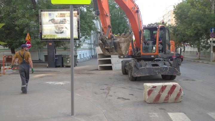 «Т Плюс» приступает к  последнему этапу реконструкции теплотрассы на ул. Соколовая в Саратове