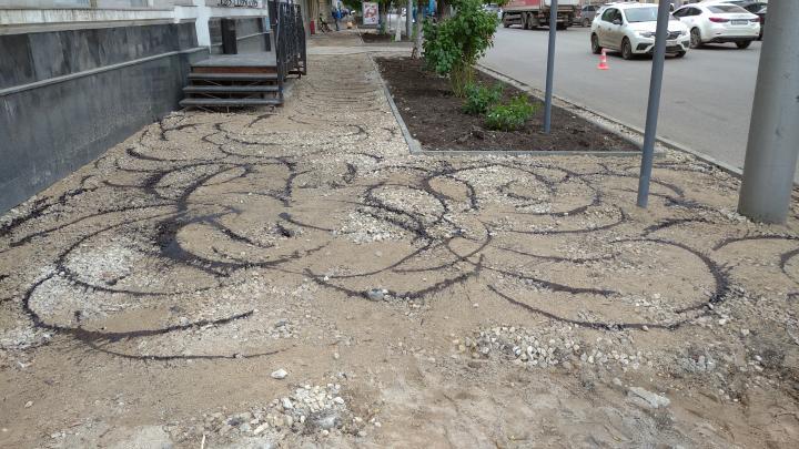 Асфальт на улице Чернышевского в Саратове поменяют в следующем году