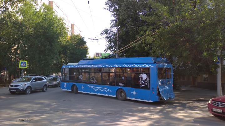 В Саратове встали троллейбусы №3 и 16