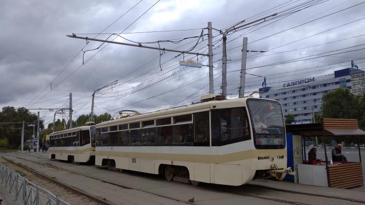 В Саратове прервано движение трамвая №11