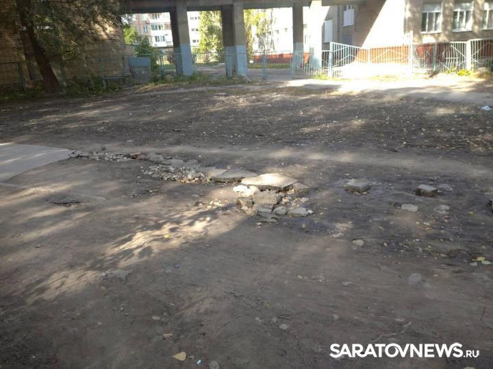 Дорогу к школе №40 отремонтируют до 16 октября