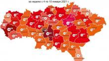 Ни один район Саратовской области не обошелся без новых случаев коронавируса на этой неделе