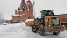 В районах области в усиленном режиме работает техника на расчистке дорог