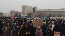 В Саратове проходит митинг в защиту политзаключенных