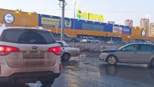 ДТП на Лесозаводской в Энгельсе заблокировало движение к «Ленте»