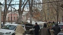 Geely сгорел дотла в Кировском районе| ВИДЕО