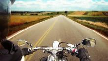 Мотоциклист разбился в Калининском районе