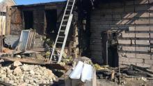 На пожаре в Красном Текстильщике погибла женщина с двумя детьми
