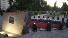 В Саратове зажгли «Лучи Победы»