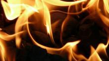 Холодильник загорелся в поселке под Татищево