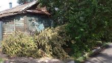 Девять районов Саратовской области пострадали от ночной стихии