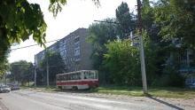 Трамвай № 7 встал в Заводском районе