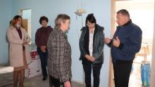 Александр Романов посетил социальные объекты села Донгуз Балтайского района