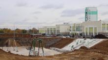 Панков: Жители Юбилейного очень ждут новый парк и поликлинику